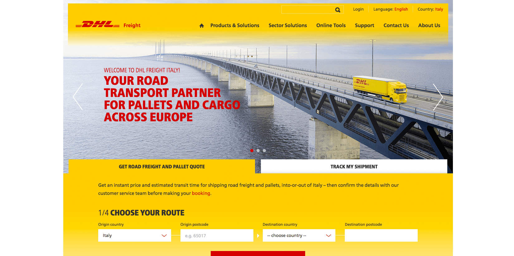 Kentico Agency sunzinet for DHL