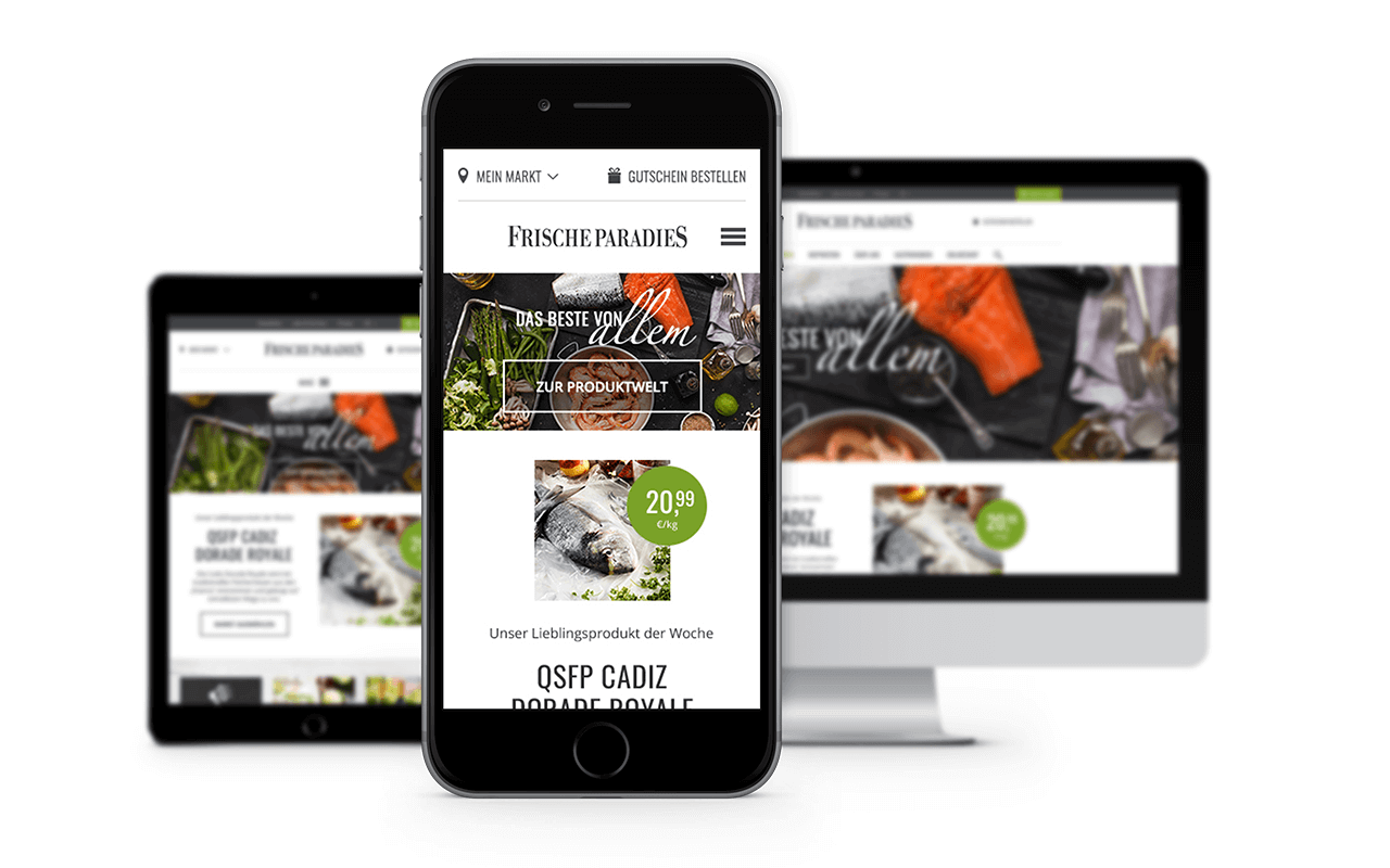 Mobil-optimierte Website in TYPO3