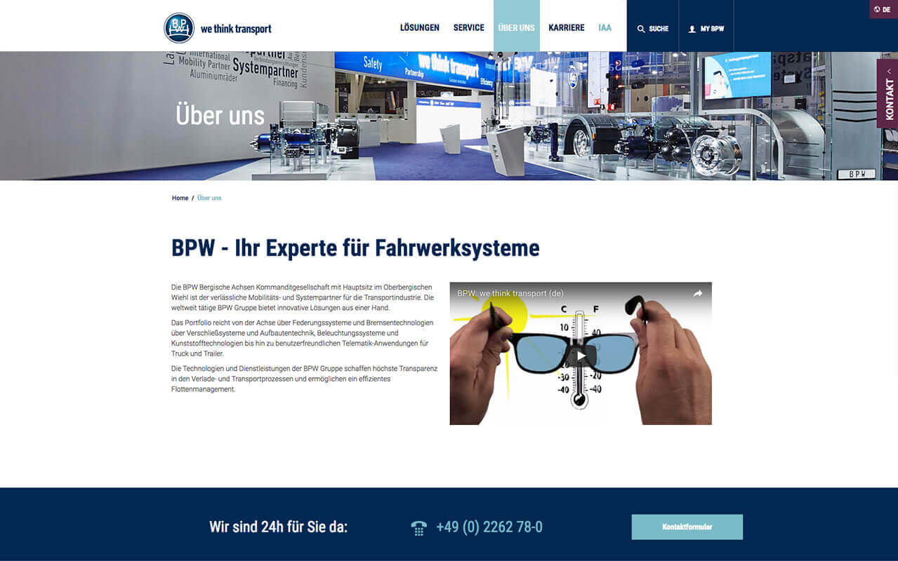 BPW TYPO3 Website